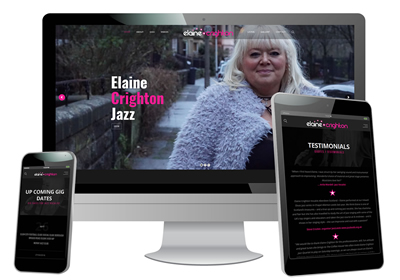 Elaine Crighton Jazz Vocalist Website