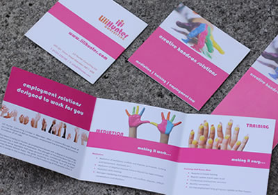 Brochure Design and Print for Lili Hunter HR