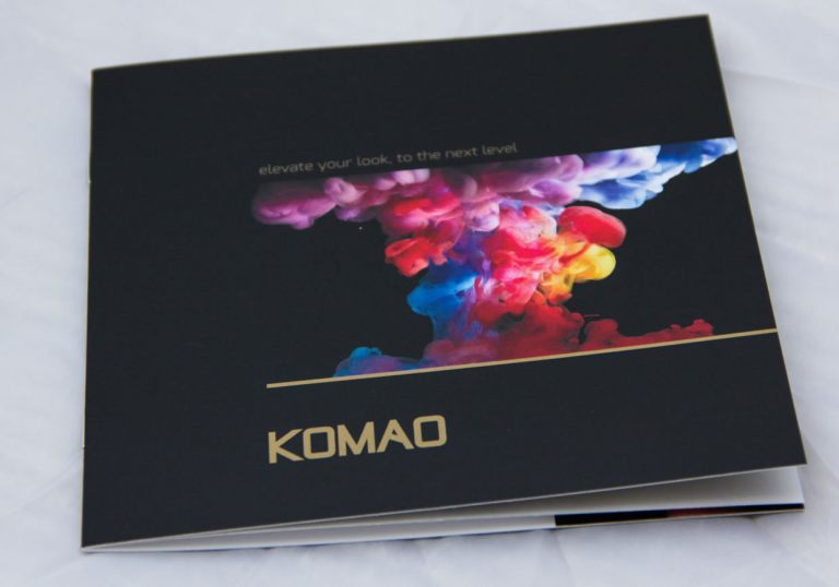 Komao Hair Salon Brochure