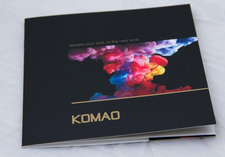 Komao Hair Salon Brochure
